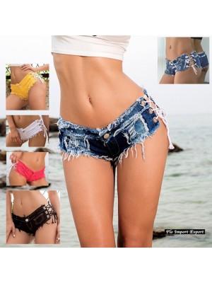 Mini Pantaloncini Jeans Copricostume Donna JEA005