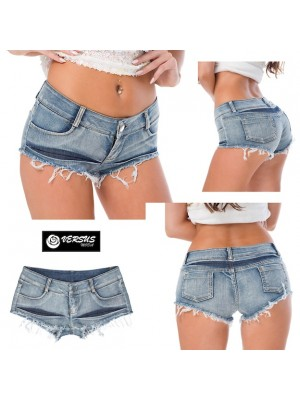 Mini Pantaloncini Jeans Donna JEA018