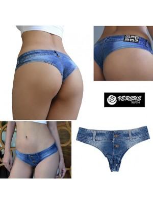 Mini Pantaloncini Jeans Donna Tipo Costume Brasiliano JEA019
