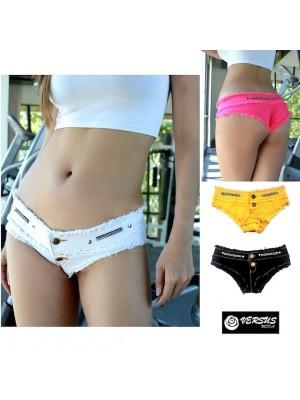 Mini Pantaloncini Jeans Donna Tipo Brasiliano Coachella JEA021
