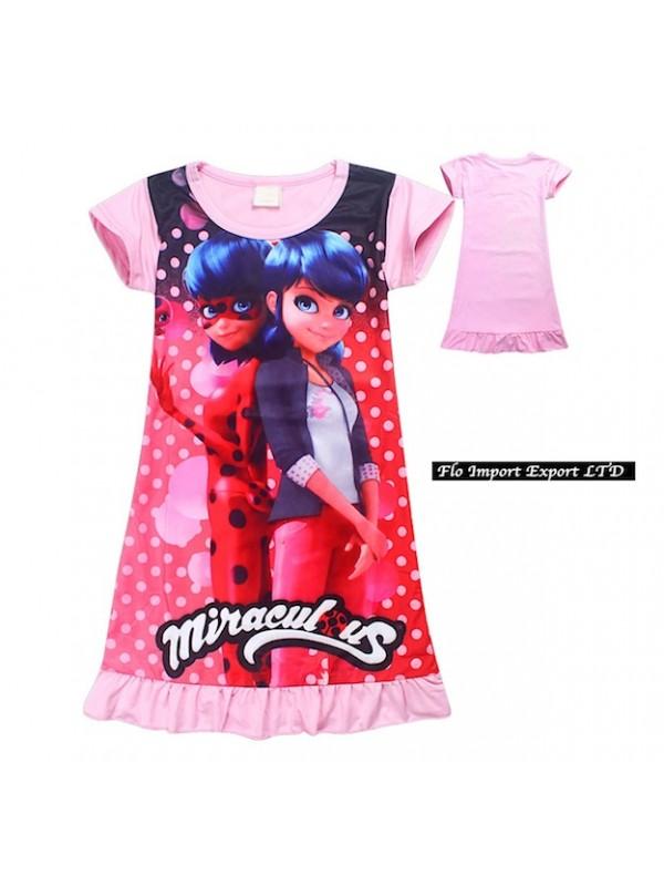 l'ultimo comprare nuovo spedizioni mondiali gratuite Ladybugs Miraculous Vestito Estate Bambina LADV02