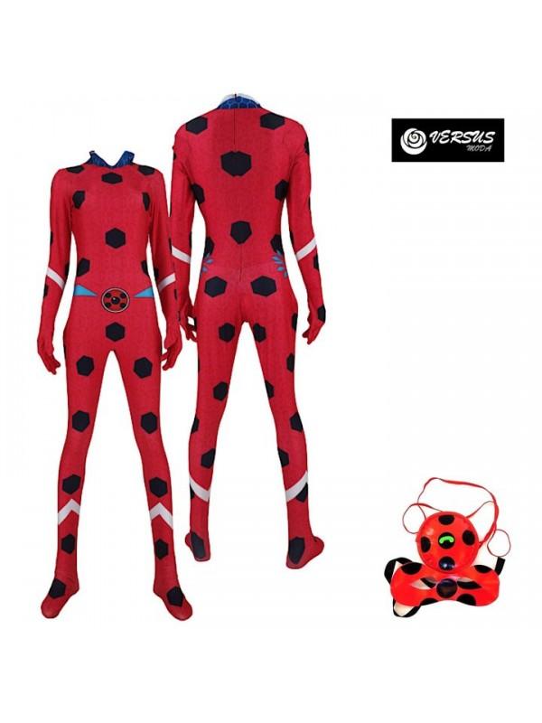 Coccinella di Ghiaccio Vestito Tuta Carnevale Ice Costume 3D LBUG12