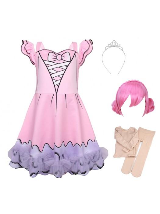 Simile Lol Center Stage Vestito Carnevale Bambina LOLCES1-B