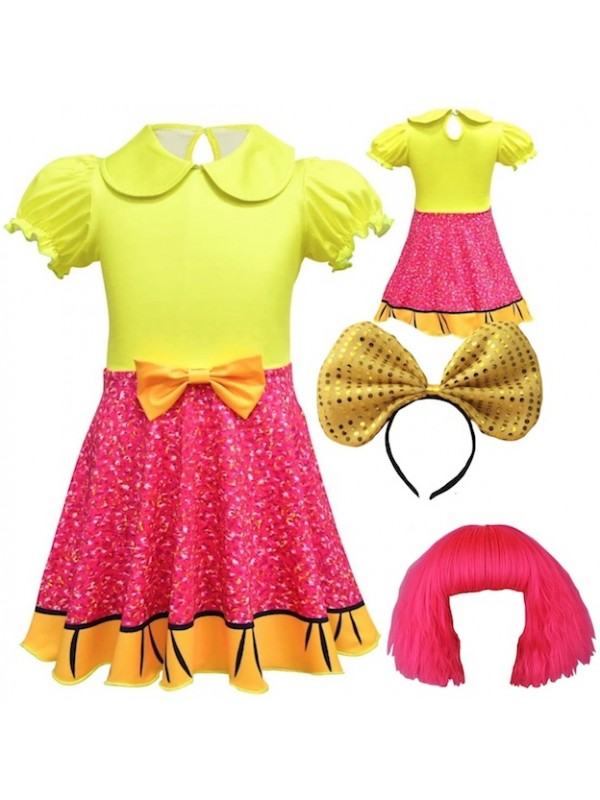 VersusModa Simile Ballerina Vestito Bambina con Tutulette Carnevale Cosplay BALLER02