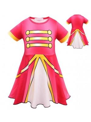 Simile Majorette Stage Vestito Carnevale Bambina LOLMAJ1