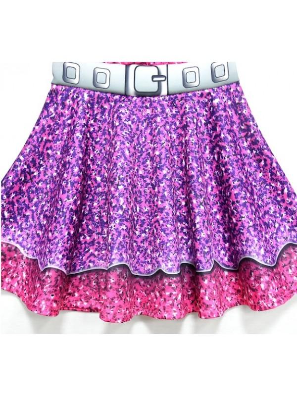 Simile Lol Purple Queen Vestito Carnevale Bambina LOLPUQ1