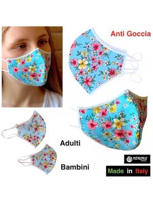 Mascherina Ergonomica Protettiva per Bambini e Adulti Made in Italy MACHILDPR