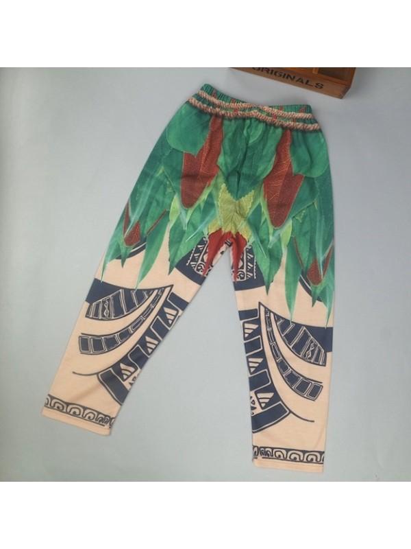 Tipo Maui Oceania Vaiana Costume Carnevale Cosplay MAUIC01