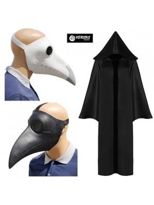 Dottore della Peste Simile SCP-049 Maschera Carnevale MEDICP2