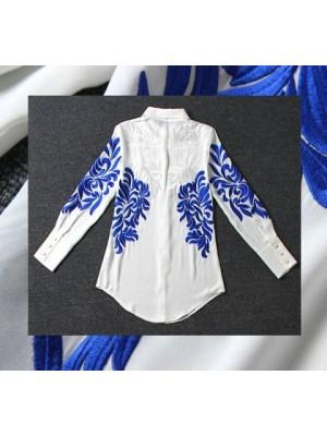 Camicia Donna Misto Seta OB14500
