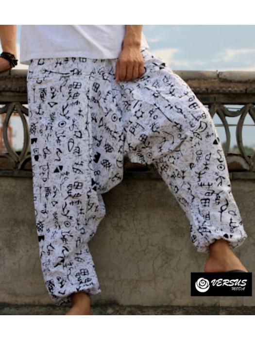 Pantaloni Uomo Harem Alla Turca Etnici Man Trousers Harem Ethnic Pants PAMAN19