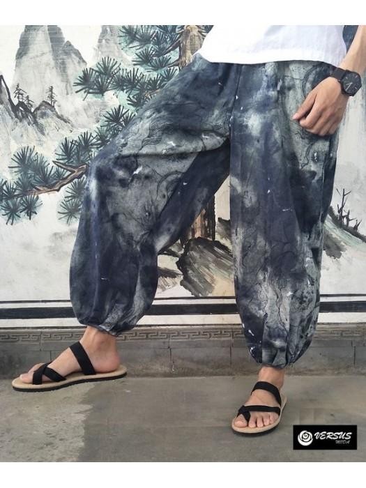 Pantaloni Uomo Harem Alla Turca Etnici Man Trousers Harem Ethnic Pants PAMAN22