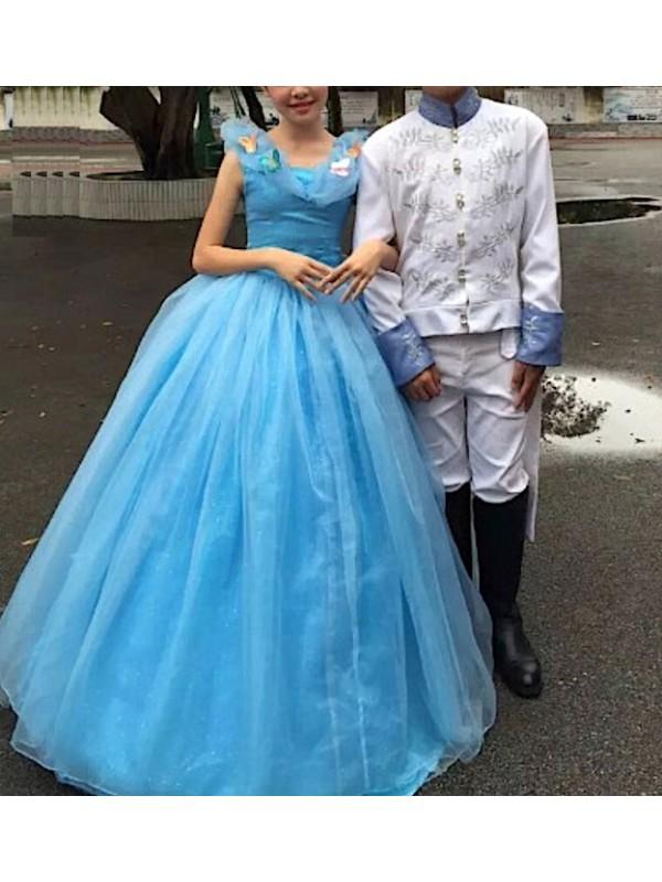 Principe Azzurro Vestito Carnevale Cenerentola PRICE01