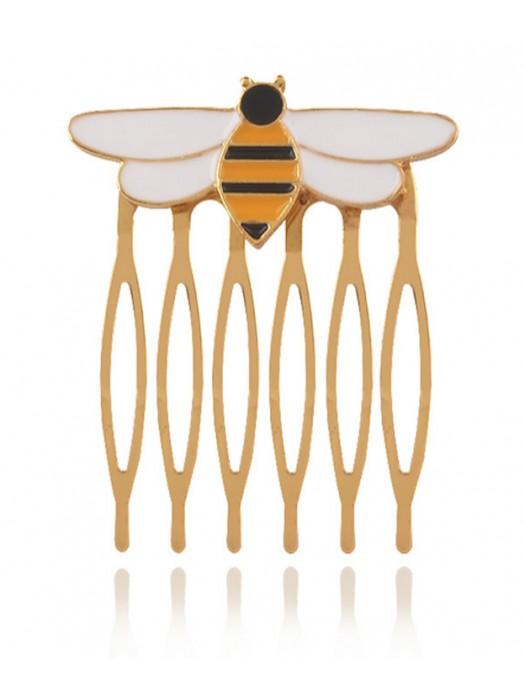 Simil Queen Bee Ladybug Pettinino Gioiello QUBEE01COM