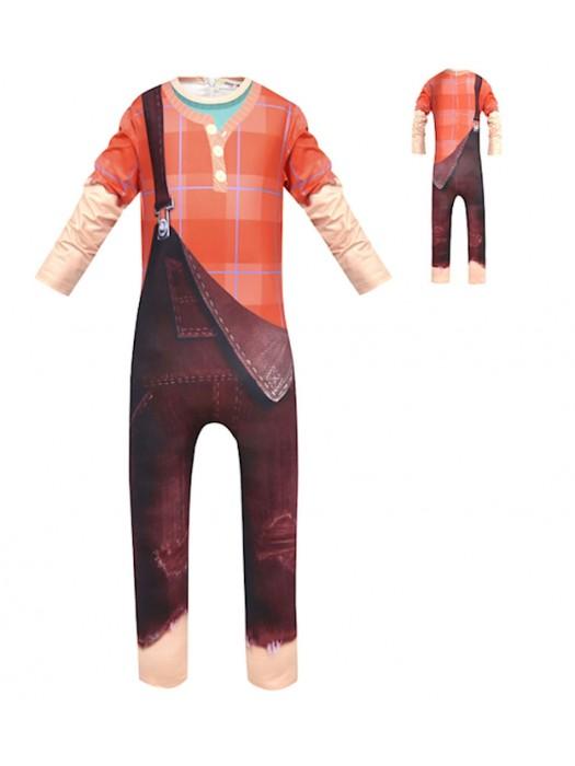Simil Ralph Vestito Carnevale Bambino Costume Spaccatutto RALPH01
