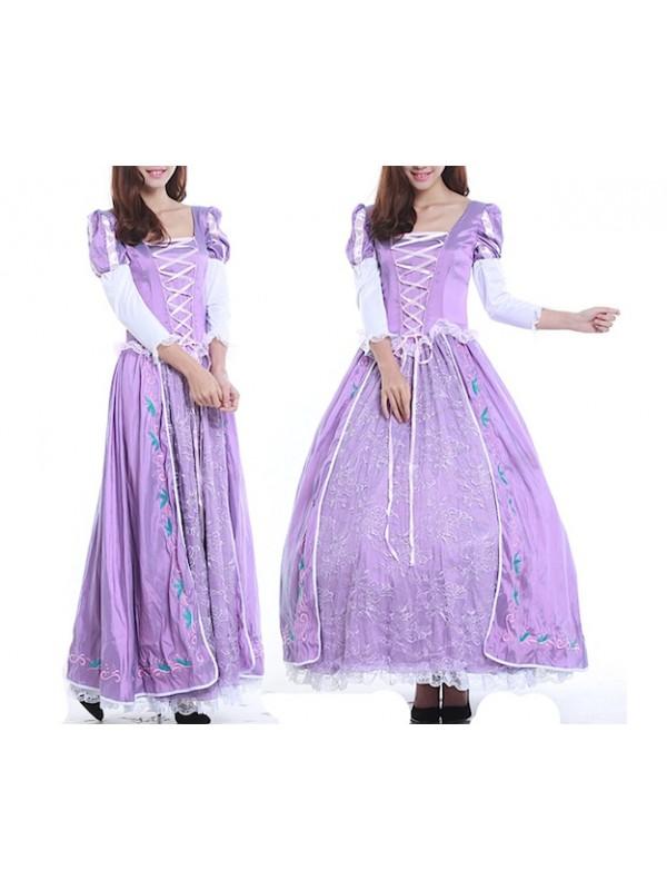 scarpe esclusive lusso primo sguardo Rapunzel Vestito Carnevale Donna RAPUW01