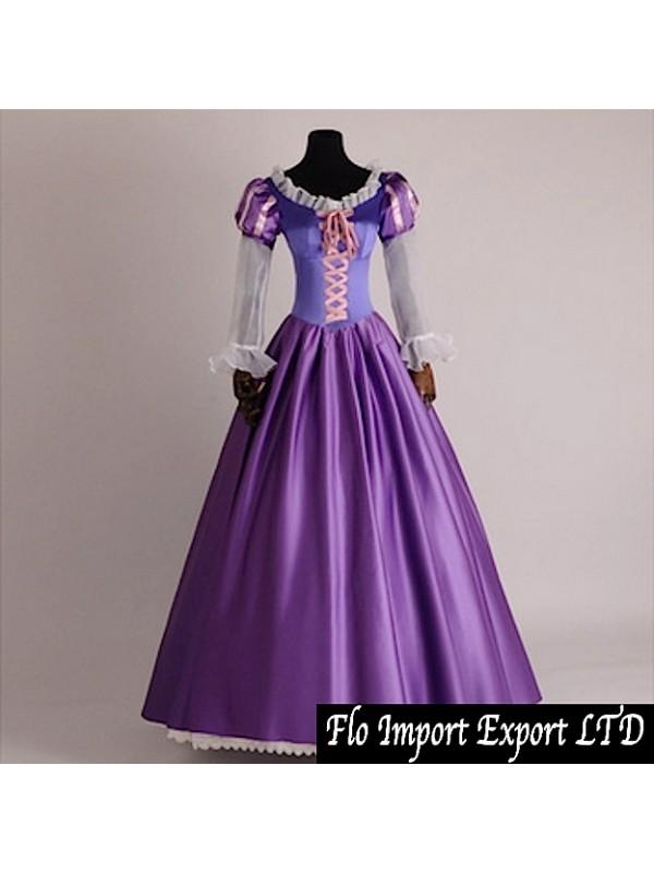 risparmia fino all'80% comprare on line acquistare Rapunzel Vestito Carnevale Donna RAPUW02