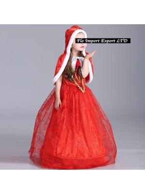 Cappuccetto Rosso Vestito Carnevale Deluxe REDC01