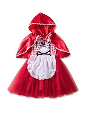 Cappuccetto Rosso Vestito Carnevale Deluxe REDC02
