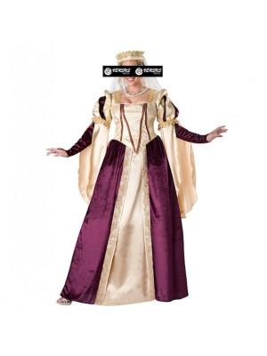 Vestito Abito Epoca Carnevale Donna Rinascimentale RENASC01