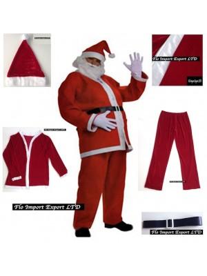 Vestito Costume Babbo Natale SANTC01