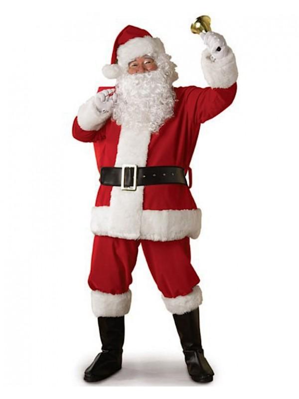 Costume Babbo Natale.Vestito Costume Babbo Natale Santc02