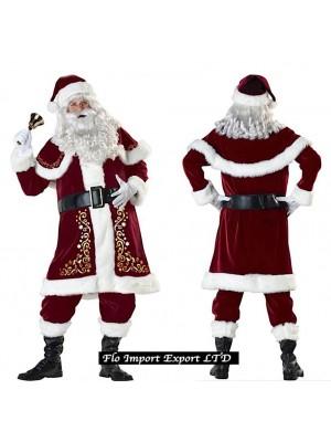 Vestito Costume Babbo Natale SANTC04