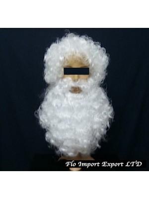 Barba e Parrucca Costume Babbo Natale SANTCBB