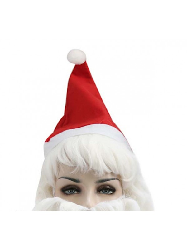 Barba Parrucca Cappello Costume Babbo Natale SANTCBW