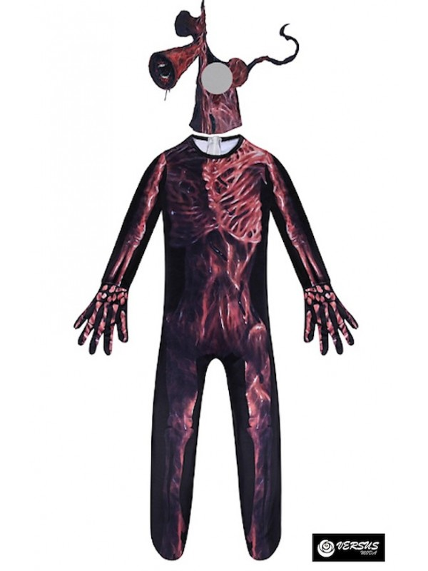 Simile SCP-6789 Maschera Carnevale Siren Head Cosplay SCP Costume SIREN01