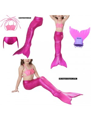 Costume Coda Sirena con Monopinna Mare Piscina SM0014 FR