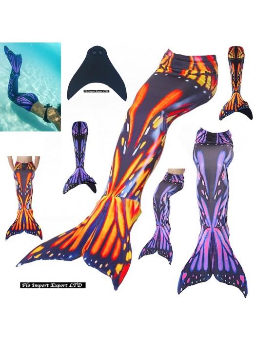 Costume Coda Sirena Donna Bambina Mare Piscina SM0021