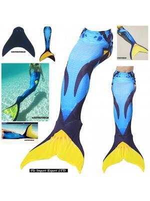 Costume Coda Sirena Donna Bambina Mare Piscina SM0022