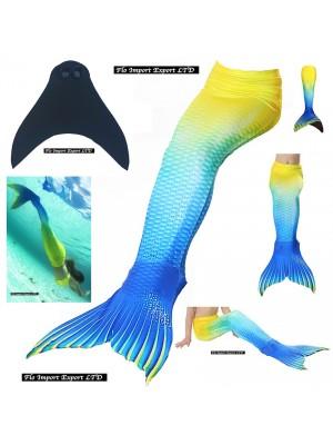 Costume Coda Sirena Donna Bambina Mare Piscina SM0023