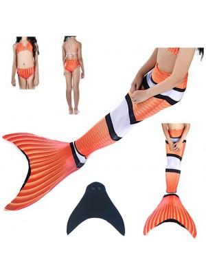Costume Coda Sirena Donna Bambina Mare Piscina SM0026