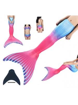 Costume Coda Sirena Donna Bambina Mare Piscina SM0027