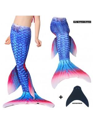 Costume Coda Sirena Monopinna Nuoto Bambina Donna SMDP01