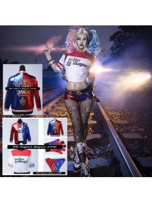 Simil Harley Suicide Vestito Carnevale Donna SQA001