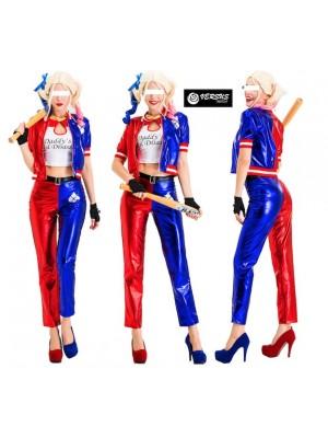 Simil Harley Suicide Vestito Carnevale Donna SQA003B