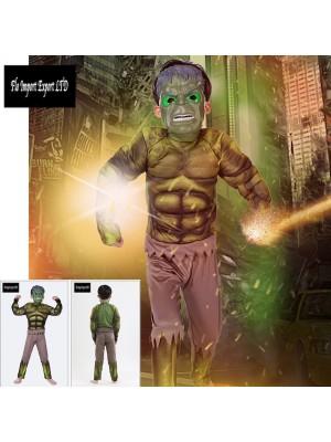 Hulk Vestito Costume Carnevale Bambino SUP001
