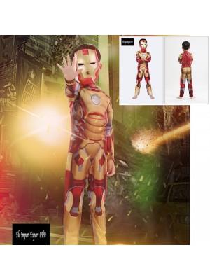 Ironman Vestito Costume Carnevale Bambino SUP003