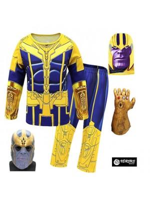 Simile Thanos Avengers Costume Carnevale Bambino THAN02