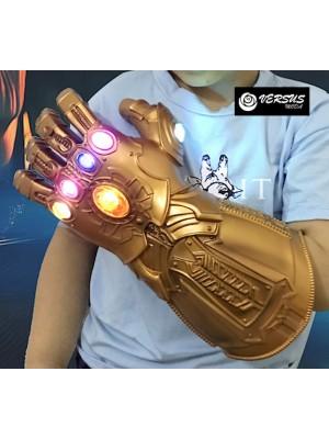 Simile Thanos Guanto Luci Carnevale Bambino Uomo THANGL4
