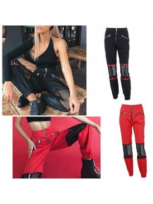 Tuta Pantaloni Donna Rete su Ginocchia TRA016