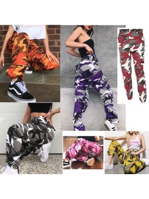 Pantaloni Donna Sportivi Mimetici 6 Colori TRA019