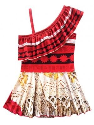 Vaiana Costume Intero Mare Oceania Bambina VACOS04