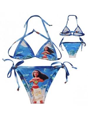 Vaiana Costume Mare Oceania Bikini 2 Pezzi Bambina VACOS06