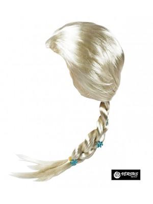 Simile Frozen Elsa 2 Parrucca Carnevale WAFF006