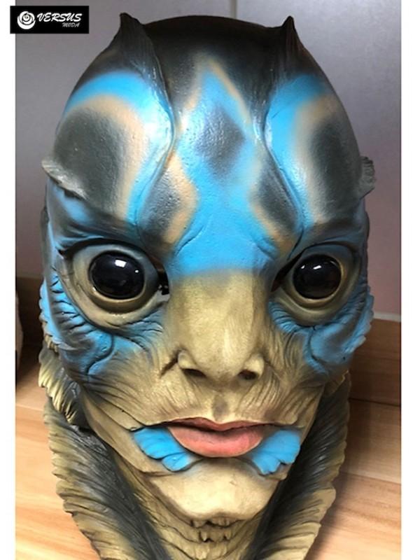 Simil Testa Forma dell'Acqua Maschera Carnevale WATSHA1