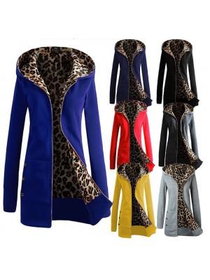 Giacca Donna Interno Leopardato Autunno Inverno WHO01